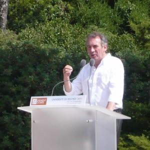 François Bayrou discours Giens