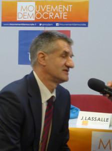 Jean Lassalle à Limoges