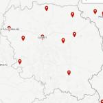 Emplacement des bureaux de vote en Creuse