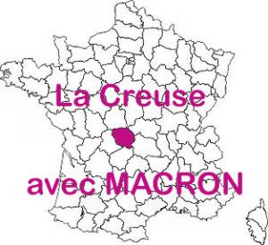 La Creuse avec MACRON